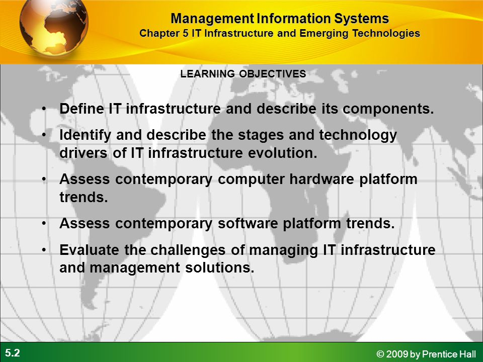 it infrastructure and emerging technologies ppt download