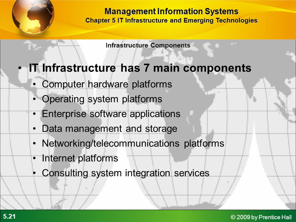 7 components of it infrastructure pdf