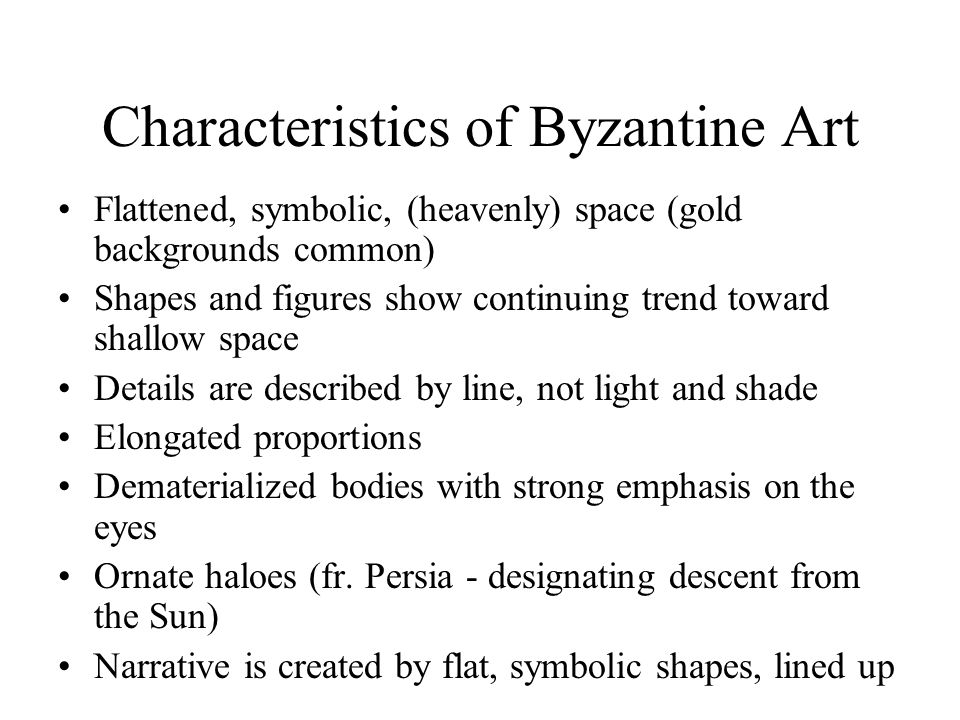 Characteristics Of Line In Art : Byzantine art emperor justinian and courtiers c