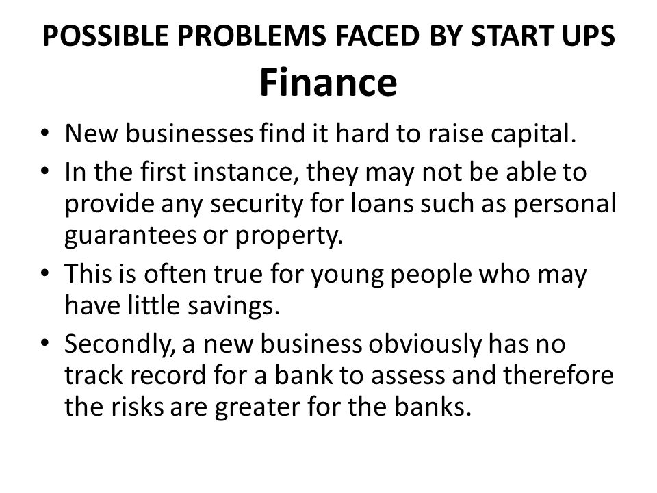 solutions for businesses faced with financial trouble What's your biggest business challenge start your business business ideas business plans financial solutions marketing solutions security solutions retail solutions smb solutions the 10 big problems all small businesses face by david mielach.