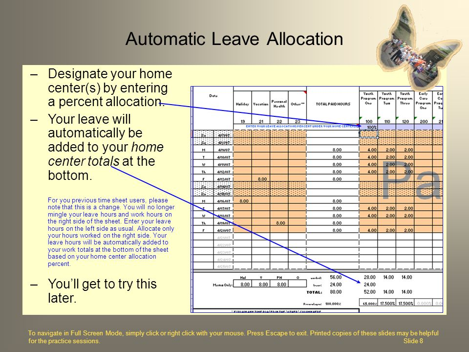 Automatic Leave Allocation