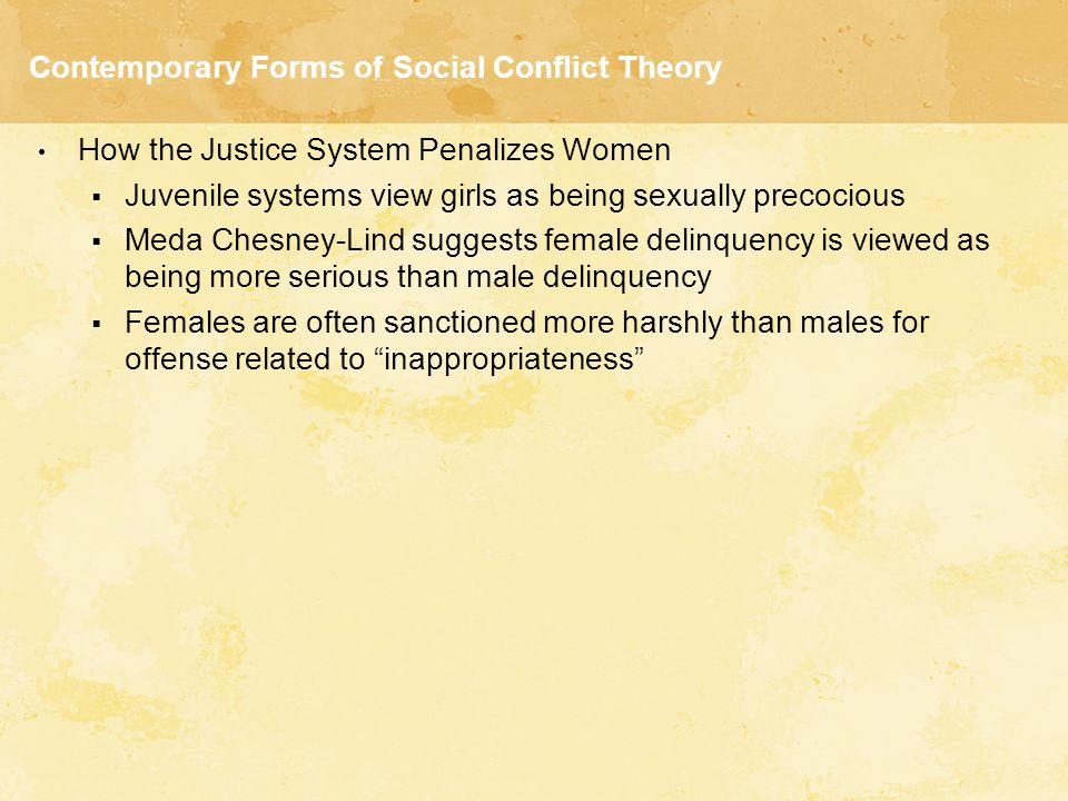 THEORIES OF JUVENILE DELINQUENCY.