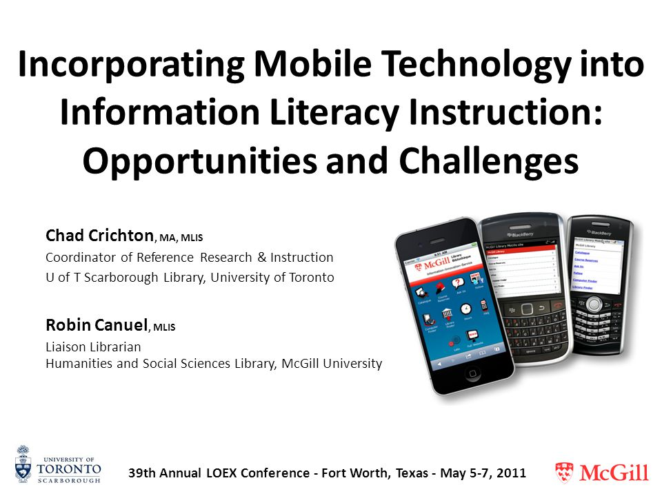 Mobile Technologies in Libraries : A LITA Guide