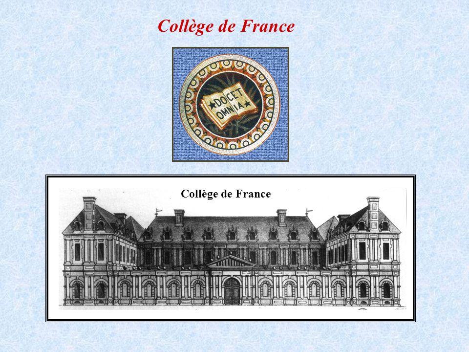 Collège de France Collège de France
