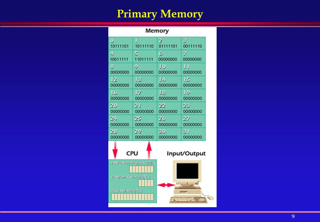primary and secondary storage devices of computer pdf