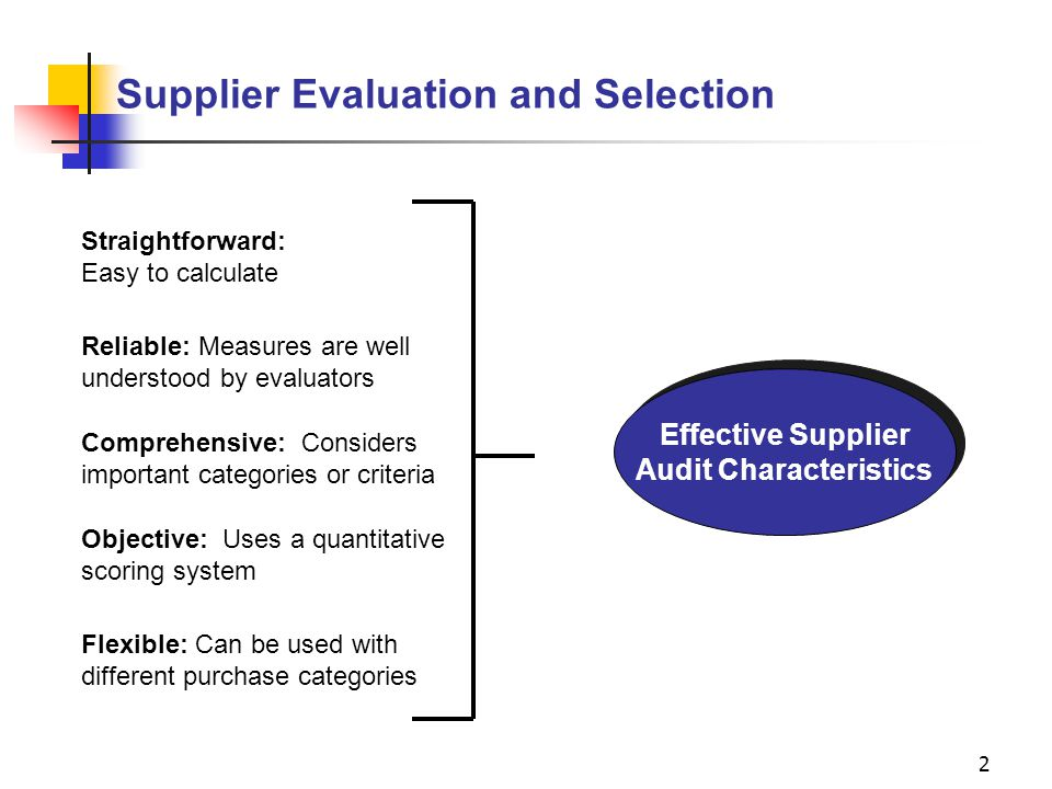 a supplier selection evaluation and re evaluation This document sets out the indicating the data and forms that are to be provided for the other methods of selection the evaluation notice is sent to the.