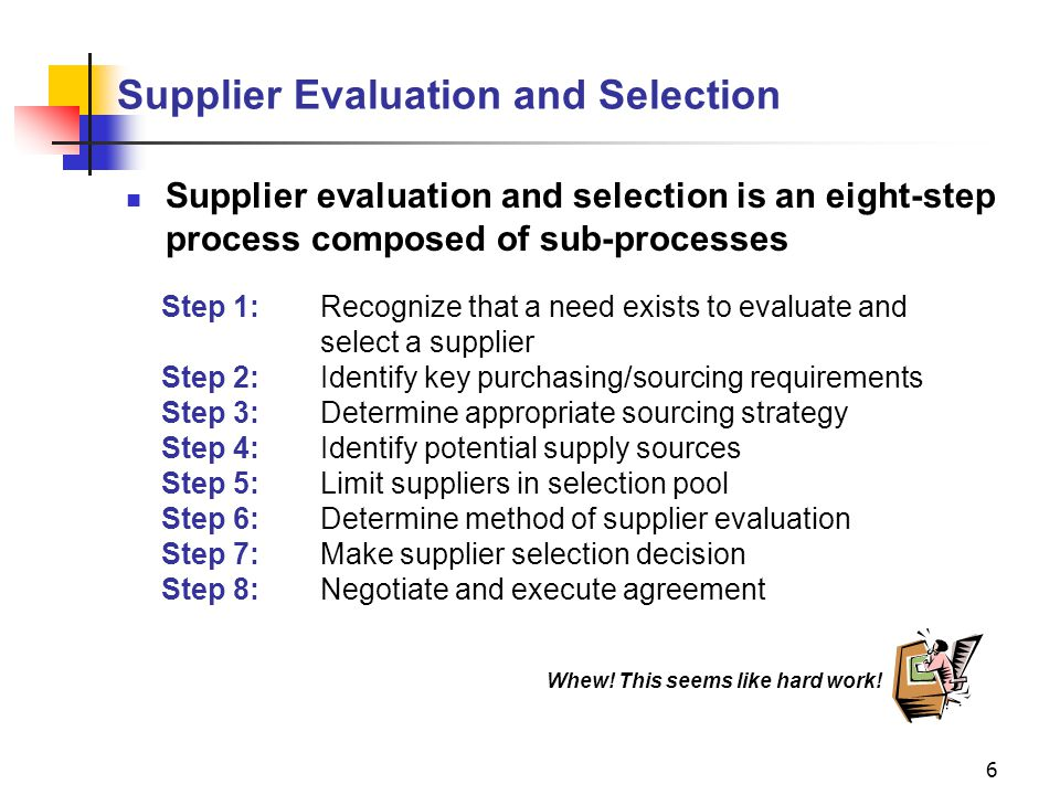 strategy evaluation and selection 12 linking procurement decisions with business strategy 17 strategy formulation 18 competitive strategy 19  supplier selection and evaluation.