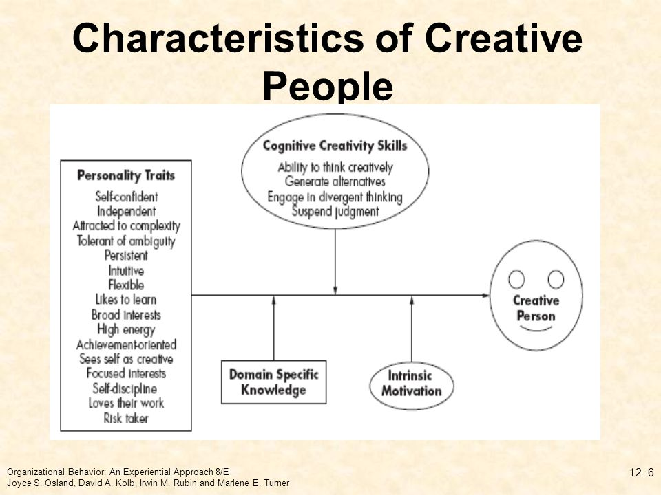 creativity personality approach A socratic approach to managing creativity in business, 80  creativity, progress and personality, journal of philosophy of education, volume 18, issue 2.