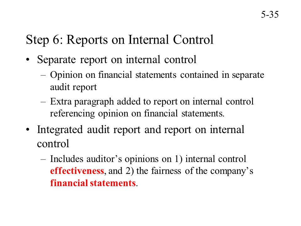 report internal control and cost benefit Assessment of the effectiveness of those internal controls because the cost of complying with the  report direct benefits of compliance with section 404 rules (i.