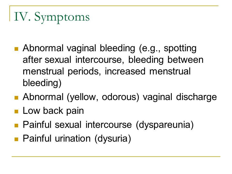 Vaginal bleeding - Wikipedia