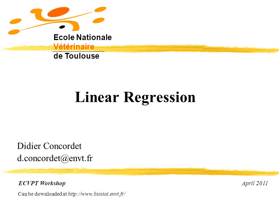 Didier Concordet d.concordet@envt.fr