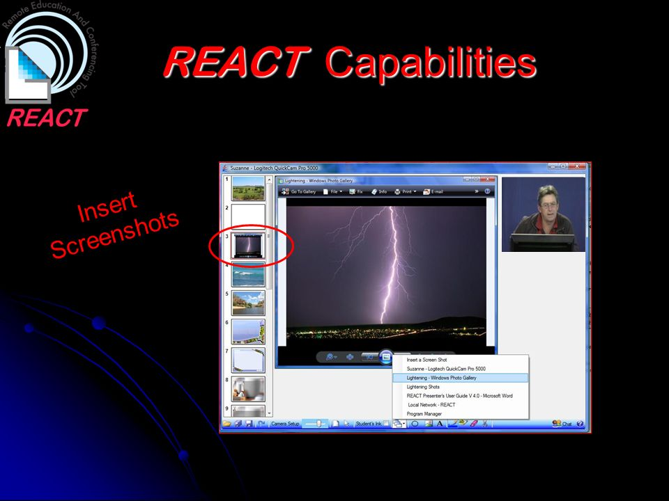 REACT Capabilities Insert Screenshots Commonwealth Games Torch at KSA