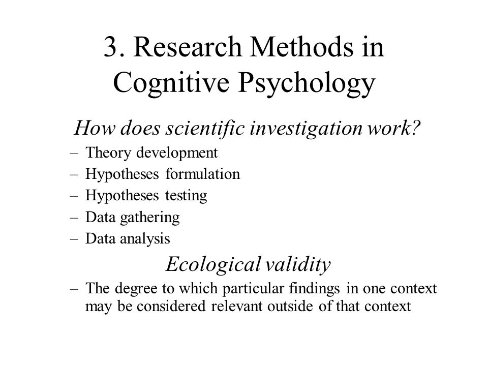 an introduction to the analysis of cognitive development Introduction cognitive development is a major domain of early childhood  development the term cognition refers to how the mind operates and the study  of.