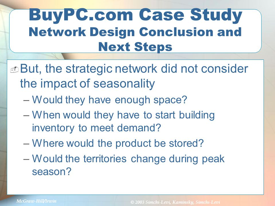 Download  Supply Chain Consulting Case Study  Distribution Network