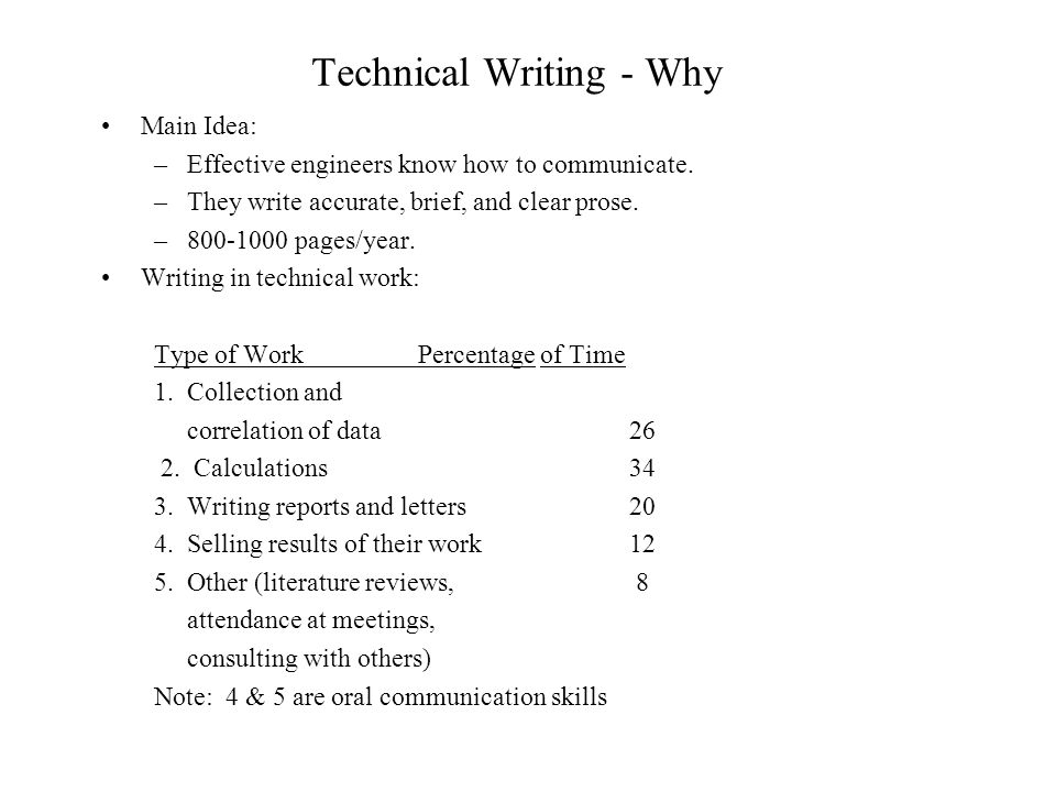 A Guide to Writing a Technical Report