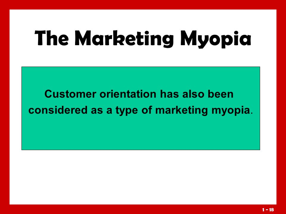 21st market myopia Conducting international marketing research in the 21st century, with c  samuel craig,  global market myopia, with c samuel craig, journal of  marketing.