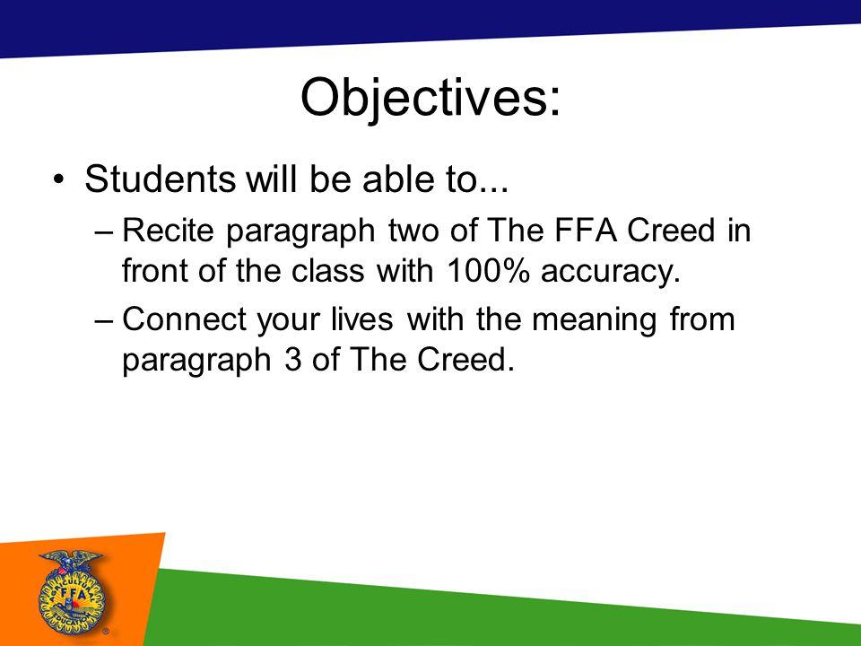 Ffa Creed Worksheet Free Worksheets Library | Download and Print ...