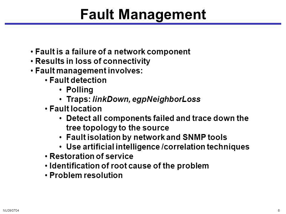 fault configuration performance management ppt