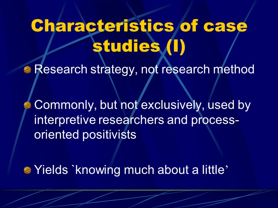 Interpretive case study wiki