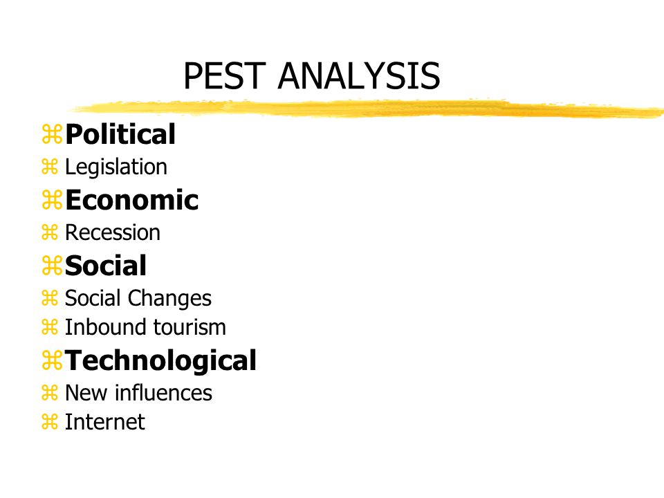 pest analysis in hilton hotel Reading comprehension - ensure that you draw the most important information from the related lesson on a swot analysis case study of hilton  pest scan for hotel.