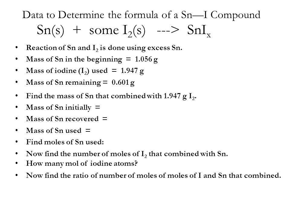 determination of the formula unit of To calculate the formula weight or molecular weight of a compound, set up a  table:  (atomic mass units) for single molecules or grams for laboratory  quantities.