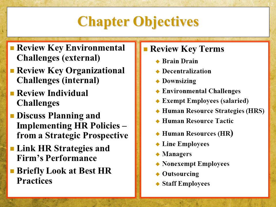 linking hrm practices to companys objectives Human resource management good practices good hrm practices are instrumental in helping achieve departmental objectives and enhance productivity for the purpose of sharing experience and providing reference in launching hrm initiatives.