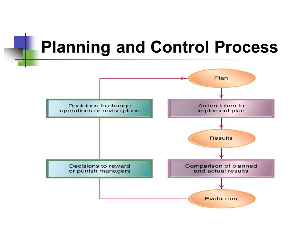 Planning and Control Process