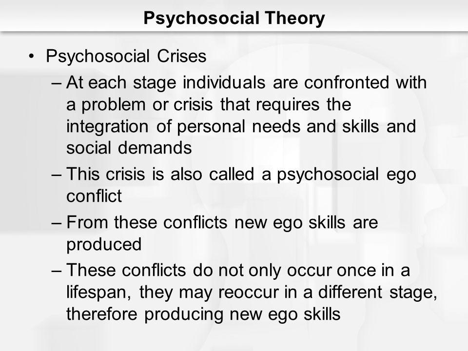 Psychosocial Theory Psychosocial Crises.