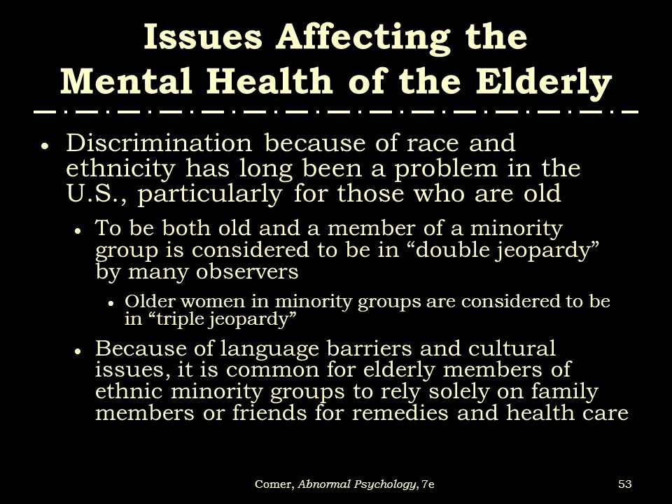 issues affecting the aged essay The number of people in old age homes is constantly increasing and also most of the parents are now deciding to live in old age homes rather than living with their children nowadays these people are facing the problems like lack of care, emotional support and economic support from the family etc.