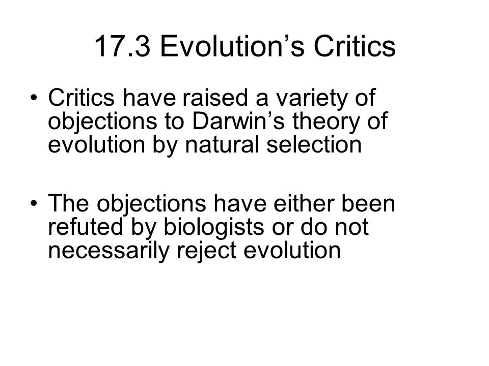 darwin theory of evolution by natural selection essay