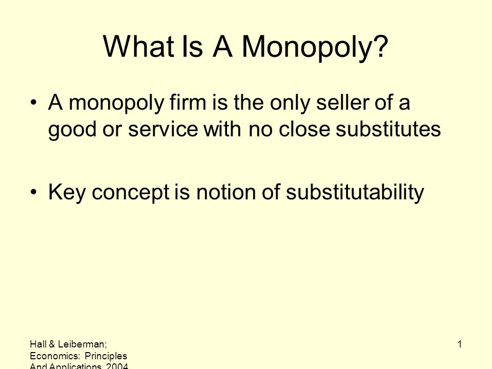 what is monopolistic exploitation Why study imperfect competition monopolistic competition the exploitation of economies of scale, to the acceleration.