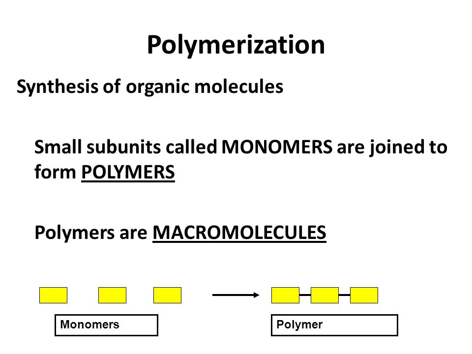 organic synthesis of polymers Discuss the preparation and properties of common polymers 5 adapt common  practical organic chemistry manipulations and interpret various analytical data.