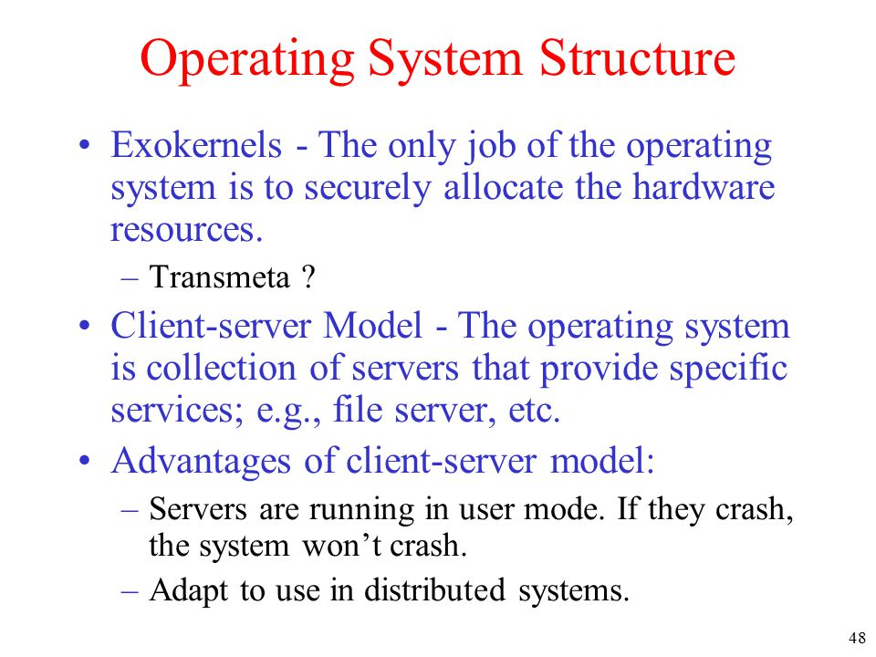 introduction to operating systems and client server 2018-3-28 introduction to operating systems winter 2018 baris kasikci slides by: harsha v madhyastha client-server.