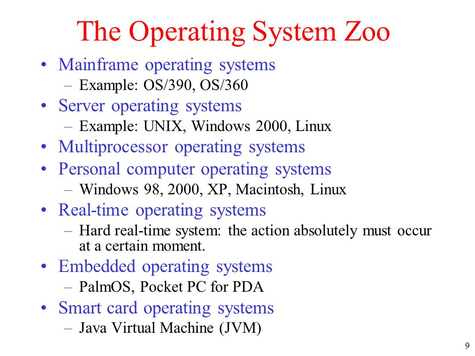 Chapter 1 Introduction 1 1 What Is An Operating System