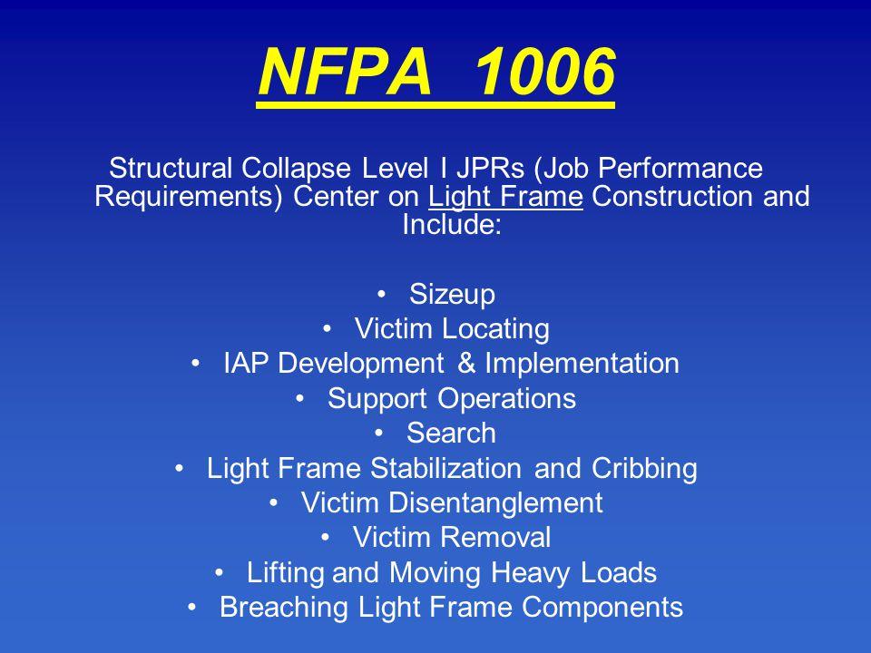 nfpa 1006 La nfpa 1582 recomienda rechazar al candidato a bombero que tenga una pérdida auditiva de 25 decibelios o más en 3 de 4 frecuencias (500-1000-2000-3000 hz).