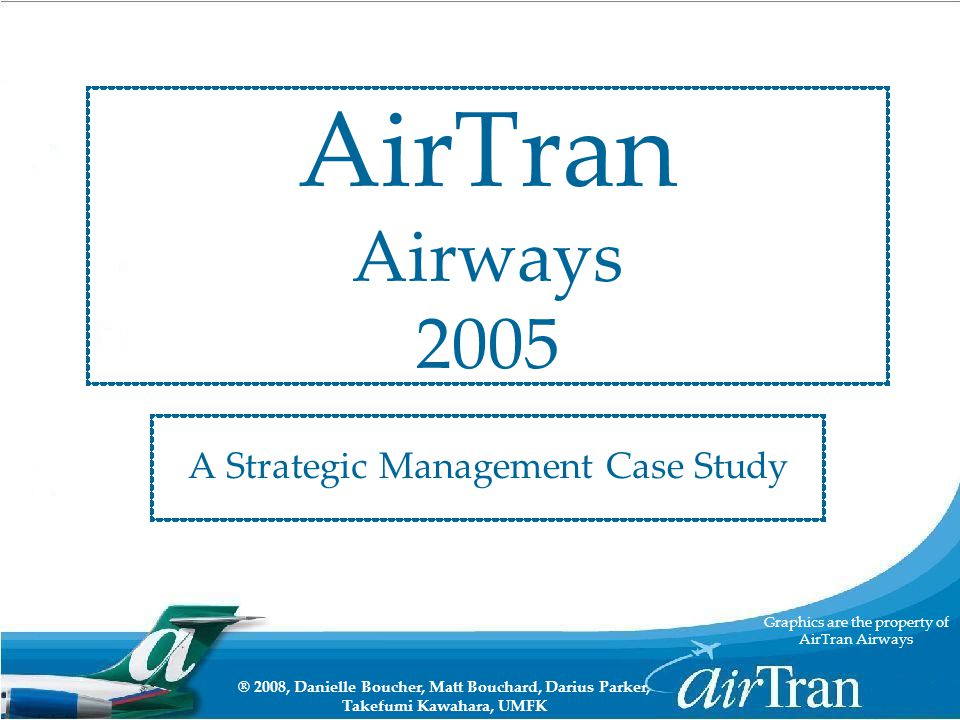 a strategic management case study