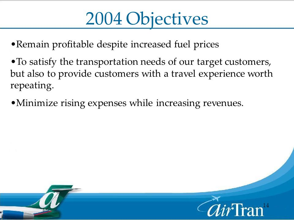 strategic vision for airtran airways Airtran airways (formerly valujet), most commonly stylized as airtran, was an american low-cost airline headquartered originally in orlando, florida airtran operated nearly 700 daily flights, primarily in the eastern and midwestern united states, with its principal hub at hartsfield-jackson atlanta international airport where.