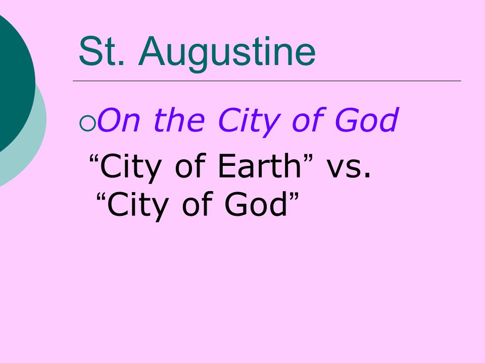 augustines god vs epictetus god Proof offered by st thomas aquinas that god exists  epictetus and aquinas on nature,  in augustines  premier truth and.