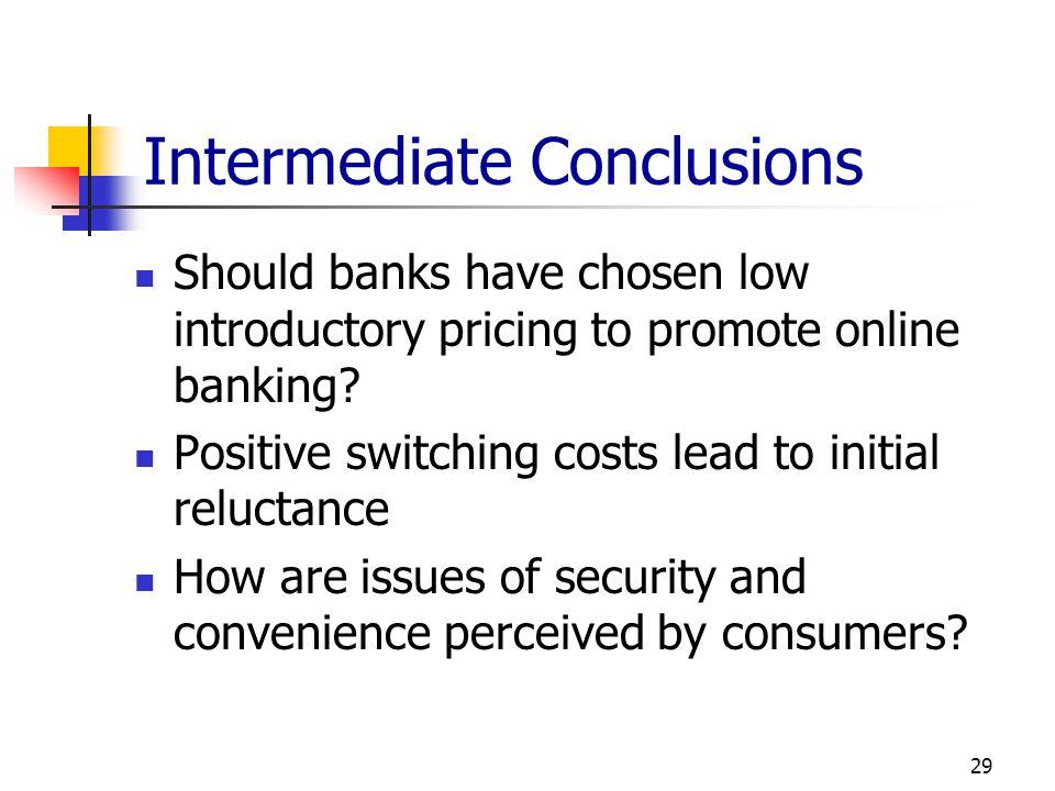 Intermediate Conclusions