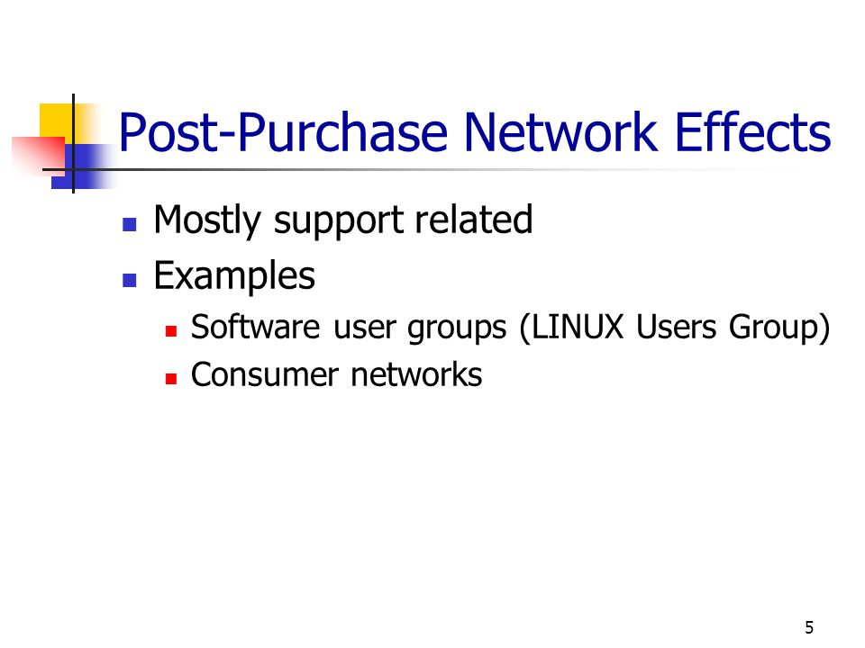 Post-Purchase Network Effects