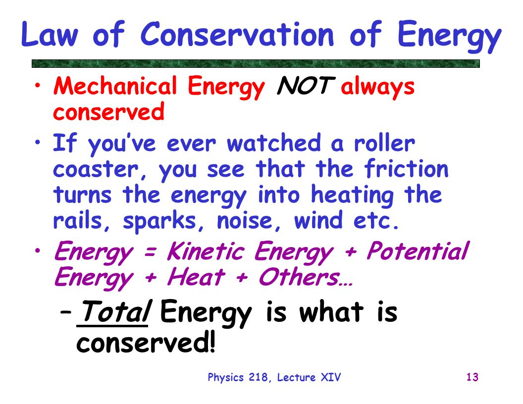 law conservation energy essay Lab report: the conservation of mass and energy essay lab report: the conservation of mass and energy how the law of conservation of.