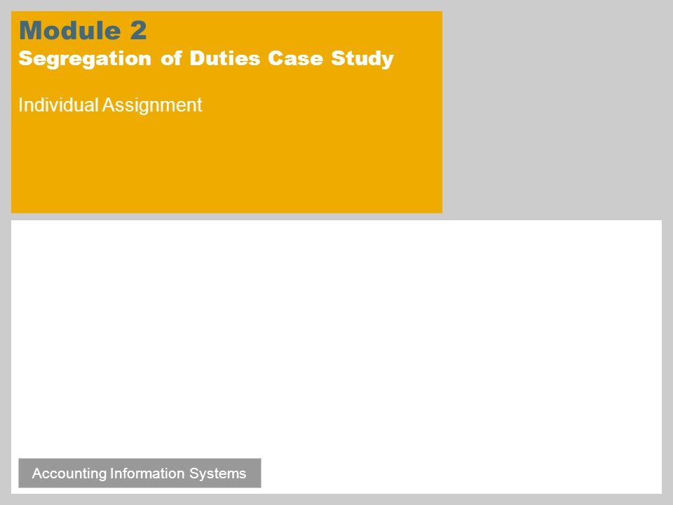 fin301 module 2 case assignment View homework help - module 2 - case assignment from psy 101 at trident  university international marvin anthony james trident university international.