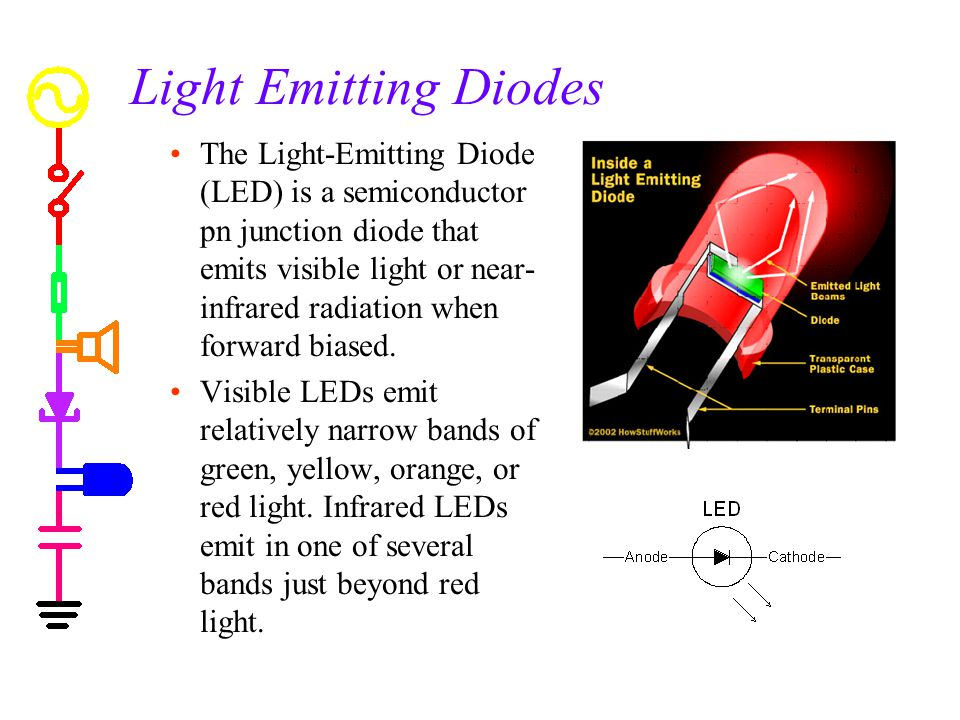 Light Emitting Diode : Experiment diodes introduction to ppt download