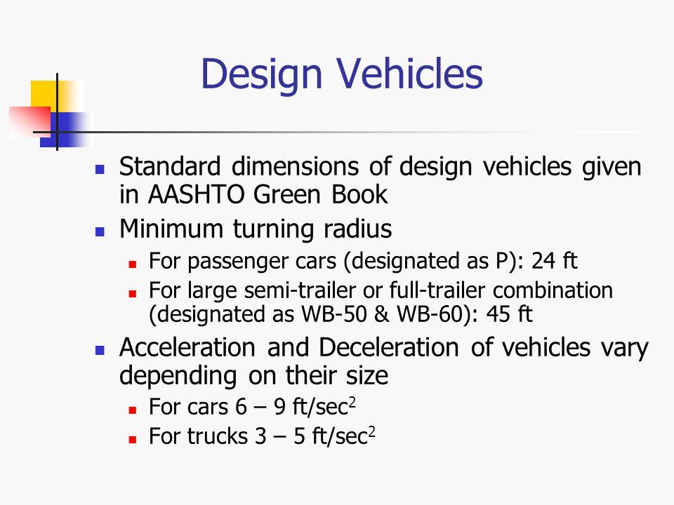 Aashto Design Vehicles Vehicle Ideas