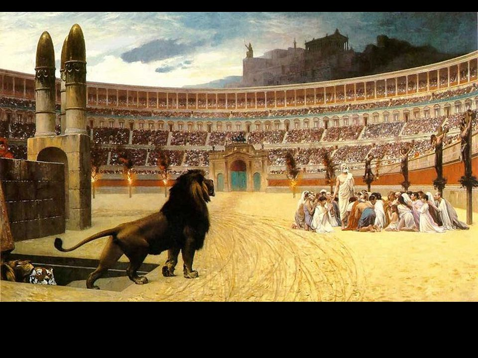 Early Christians will be persecuted by the Romans because they refused to worship the state gods or emperors.