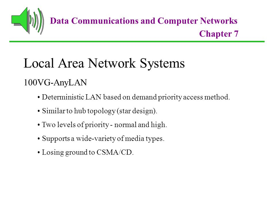 Local Area Network Systems