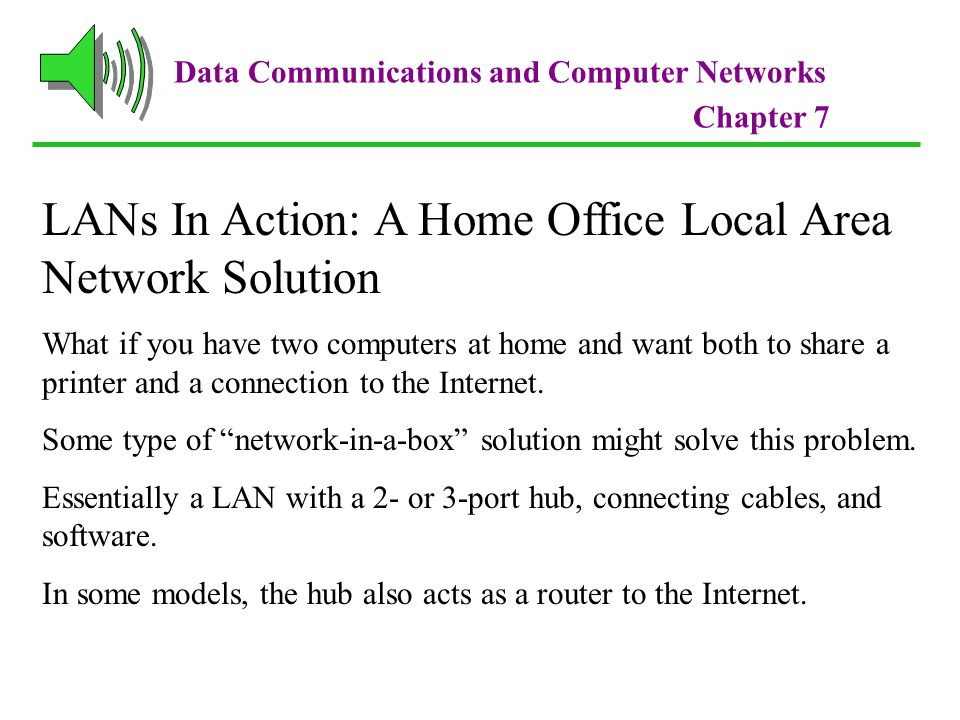 LANs In Action: A Home Office Local Area Network Solution