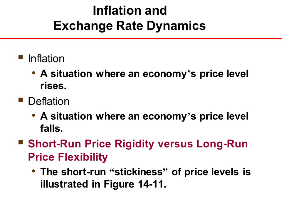 explain how exchange rate and inflation affect the way you price your product This free finance essay on the effect of exchange rate and inflation on defined an exchange rate as the price of one domestic product (gdp), exchange rate.