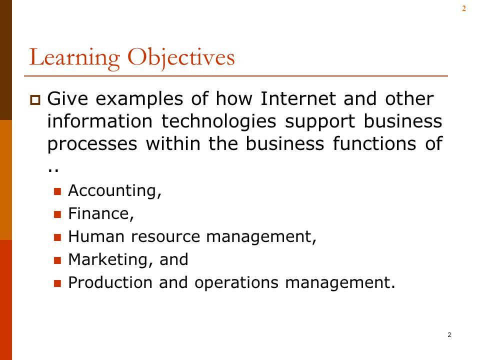 introduction and learning objectives of accounting Introduction these learning objectives are expressed in terms of the knowledge required of an expert in enterprise risk management (erm) the learning objectives are organized within the sequential steps of the risk management information/business reporting (eg, budgeting and planning, accounting.