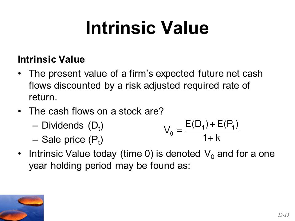 What is Intrinsic Value of a Stock?